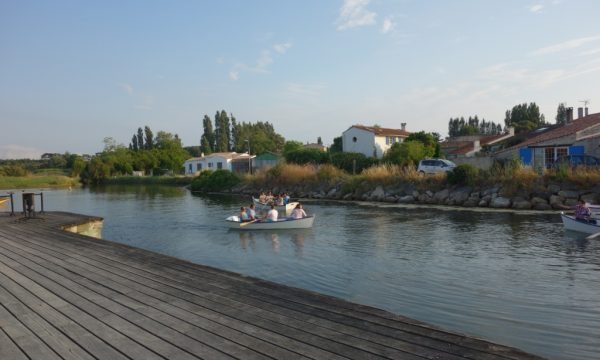 Port des salines – oléron – barque